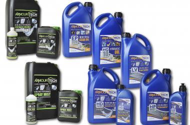 Dynashape lubricant range
