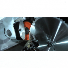 Saw blade sharpening services from Dynashape